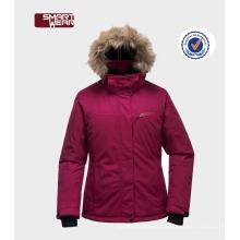 Новые женщины зимние обивка куртка / одежда девушки зимние куртки мода с капюшоном