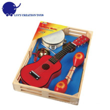 Hot Sales Musical Instrument Set Wooden Children Guitar
