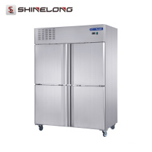 Équipement de réfrigération d'acier inoxydable de FRCF-5-1 FURNOTEL 4 portes réfrigérateur et congélateur