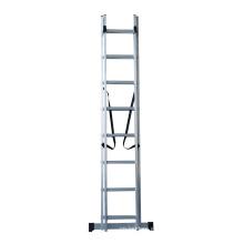 Escalera de escalera de extensión combinada de aluminio de 8.6 m