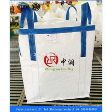 saco grande, saco a granel, saco de 1.5 toneladas PP Jumbo Saco areia fertilizante produtos químicos cimento arroz saco a granel