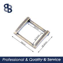 metal rectangle handbag ring