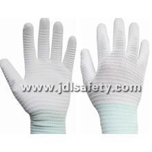 Fibre de carbone et Nylon tricotés gant de travail ESD (PC8115)