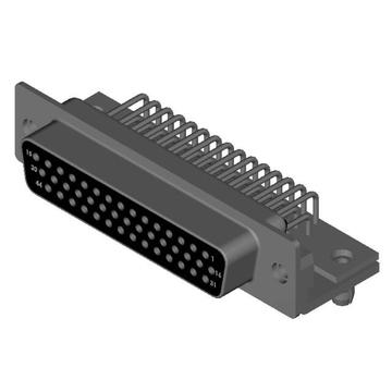 D-sub Connector 104 Pin High Density Female Right-angle