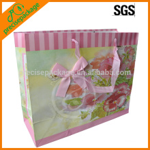 Retailing Shop Customize kraft paper bag/ cost-saving&eco-friendly