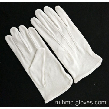 100%25+White+Nylon+Cotton+Knitted+Working+Gloves