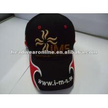 Изготовленная на заказ крышка высокого качества спортивная с вышивкой 3D вышивки