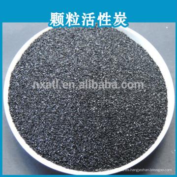 carbón activado para la purificación del agua