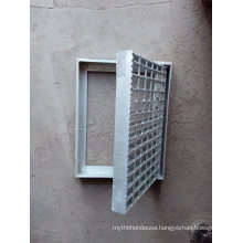 Hot Dipped Galvanized Serrated Steel Grating for China