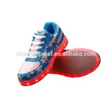 new PU LED lights shoes sneaker shoes LED sports shoes