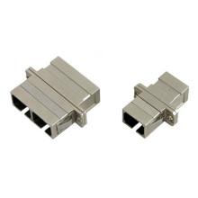 Sc / FC / St / LC Sm, Mm Simplex Adaptateur Fibre Optique Duplex