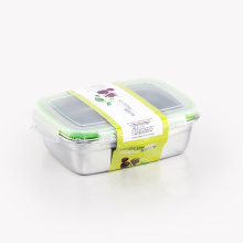 stainless steel sealed food container  bento lunch box plastic lid ss304 insulated lunch box steel tiffin box