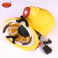 Lámpara de cabeza de lámpara de casco de seguridad de explosión