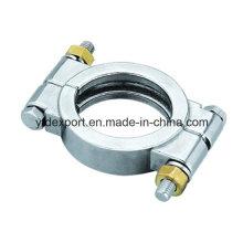 Braçadeiras de alta pressão para tubos de aço inoxidável