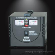 Servo Motor Type Copper Transformer 500va 300w Automatic Voltage Stabilizer