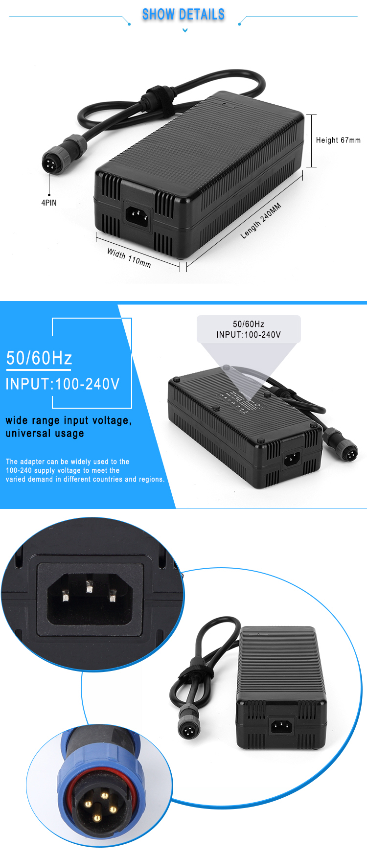 48V switching power supply Adapter