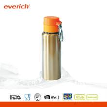 Fördernde schweißfeste Edelstahl-Metall-Trinkflasche