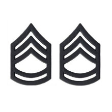 US Army Sersan Major Black Collar Device Rank