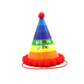 Supplies Cute Clown Paper Cone Cap Baby Hat