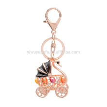 yiwu factory price wholesale Goose metal cheap keychain