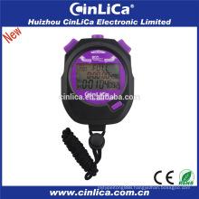 HS-2200 200 laps memory digital stopwatch alarm clock stopwatch mini