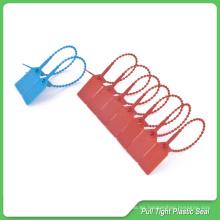 Etiqueta de sello de plástico, 230 mm de longitud, sellos ajustables de plástico, sellos de plástico