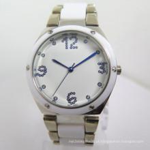 Relógio de liga de relógio moda barata quente (hl-cd031)
