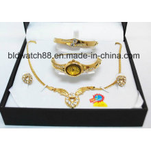 Gift Set with Changeable Straps with Jewellry Set