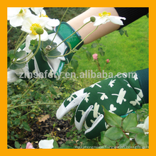 Soft Garden Work Pig Grain Leather Glove With Aeration Holes