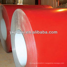 Matériaux de construction bobines en tôle d'acier colorées pour la construction