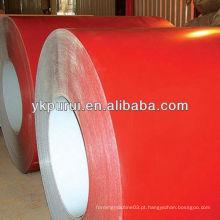 Material de construção bobinas de chapa de aço colorida para construção