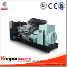 Open Soundproof Super Silent Low Noise Electrical Electric Diesel Generator