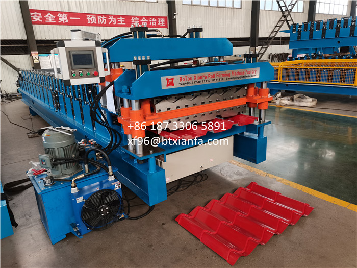 Double Layer Forming Machine For Mexico