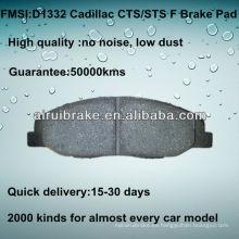 D1332 Pastilla de freno para Cadillac CTS 2008-2012 F