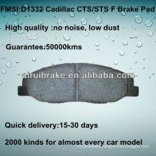 D1332 Brake Pad for Cadillac CTS 2008-2012 F
