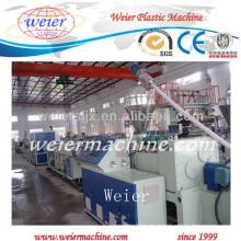 línea de producción de tubería de pvc de protección de alambre