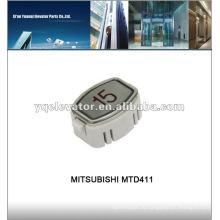 Кнопка лифта MITSUBISHI, панель кнопок лифта, кнопочная панель лифта