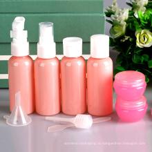 9 кусок набор розовый набор пластиковых проездных, насос Спрейера бутылки (PT03)