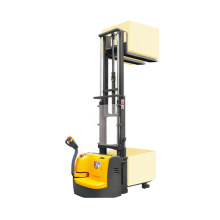 Xilin full electric walkie pallet stacker 3300lbs stacking forklift pallet lifter