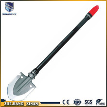 low power emergency folding plastic led shovel