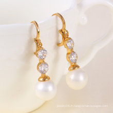 Fashion Pearl Elegant Earring (23779)
