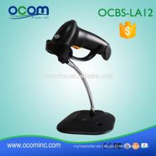 OCBS-LA12-RW rs232 escáner de código de barras de la tableta del futuro a prueba de agua negro