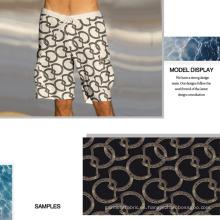 Impresión digital tejido sorprendente anillo para trajes de baño, ropa de Sport