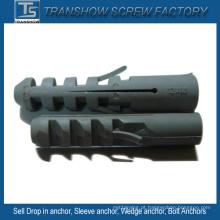 Âncoras de parede plásticas do PE M5-M14 de nylon