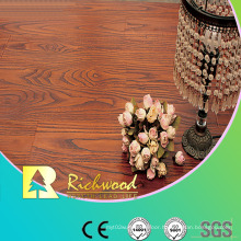 8.3mm E1 HDF Embossed Walnut U-Grooved Waterproof Laminate Floor