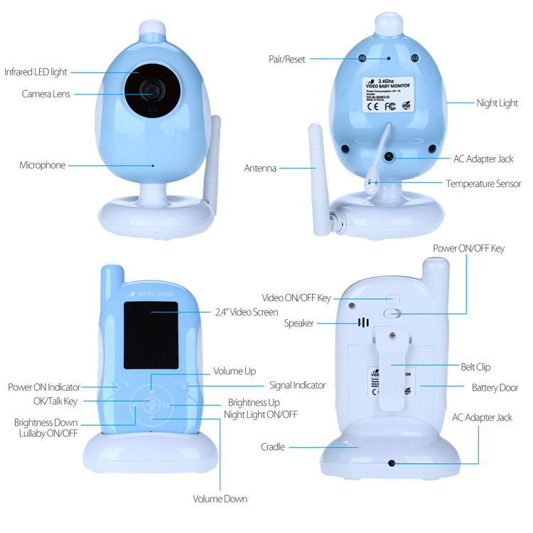 Multifunction Baby Monitor