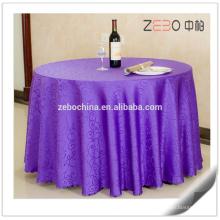 """Diversos patrones del jacquard disponibles Banquet usado 132 """"paño de tabla redondo"""