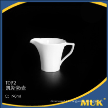 250ml for germany airline use cheap ceramic milk boat