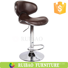 Swivel Counter Stool Fashion Leather Bar Chair Butterfly