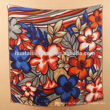 Оптовый классический шёлковый пашминовый шаль